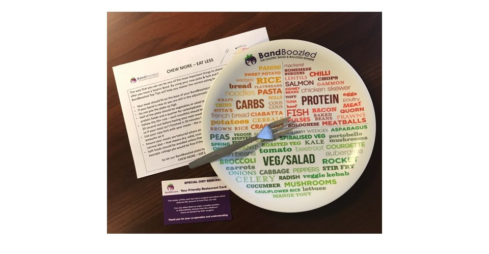 BandBoozled Portion Plate