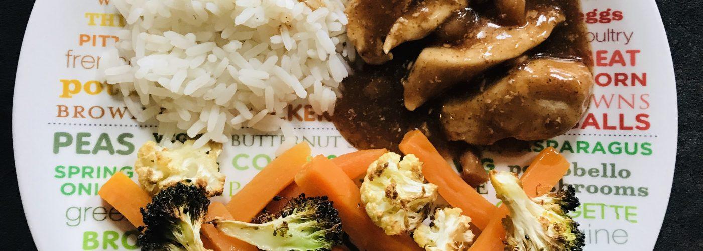 Hoisin Chicken & Roasted Veg Fusion