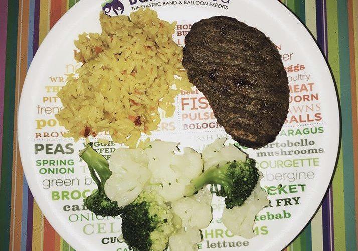 Steak, Rice and Seasonal Veggies
