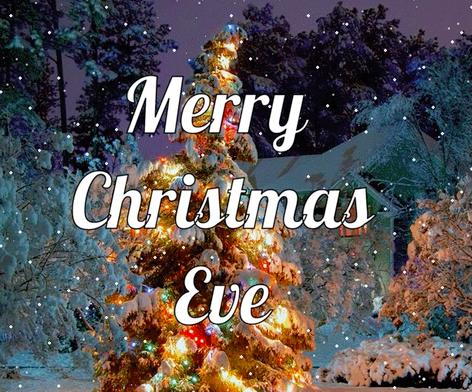 Merry Christmas Eve…😍