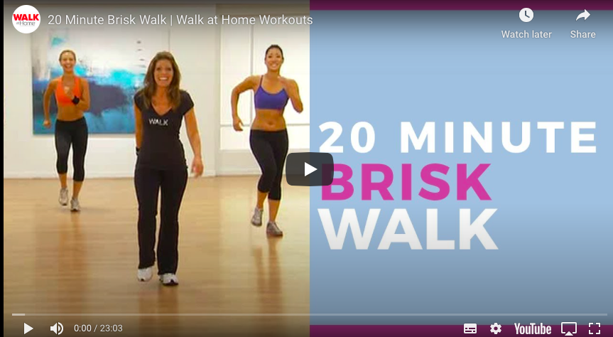 Walk at Home Workouts